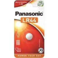 Батарейка Panasonic LR44 BLI 1