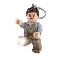 Брелок-фонарик LEGO Star Wars Рей (LGL-KE102)