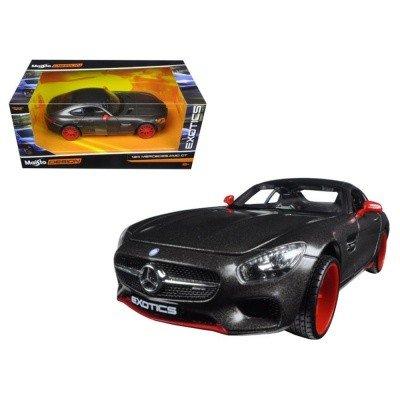 ≡ Автомодель <b>Maisto 1:24 Mercedes-AMG GT</b> (32505 met. grey ...