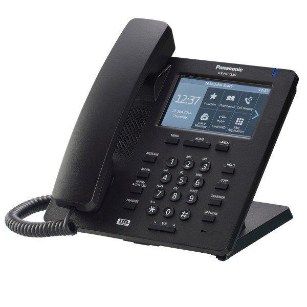 Купить Проводной IP-телефон Panasonic KX-HDV330RUB Black