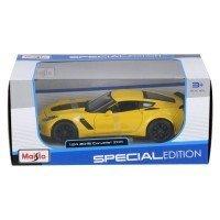Автомодель Maisto 1:24 2015 Chevrolet Corvette Z06 (31133 yellow)