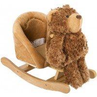 Детское кресло-качалка Rock My Baby Медвежонок 3в1 (JR2507)
