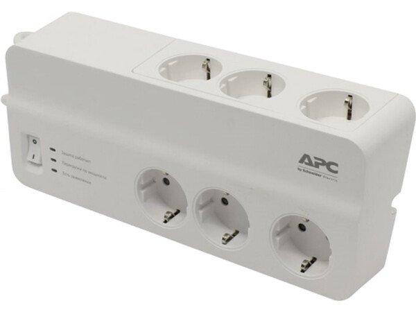 Купить Сетевые фильтры, Фильтр APC Essential SurgeArrest 6 outlets new