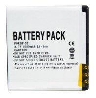 Аккумулятор PowerPlant Nokia 700 (BP-5Z) 1500mAh