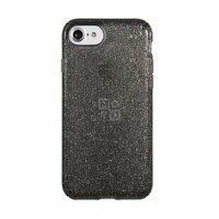 Чехол Speck для iPhone 8/7 Presidio Clear Glitter Onyx Black With Gold Glitter