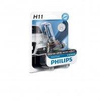 Лампа галогеновая Philips H11 WhiteVision +60% (12362WHVB1)