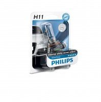 Лампа галогеновая Philips H11 WhiteVision +60% (12362WHVB1)
