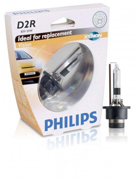 Купить Лампа ксеноновая Philips D2R Vision (85126VIS1), PHILIPS Automotive