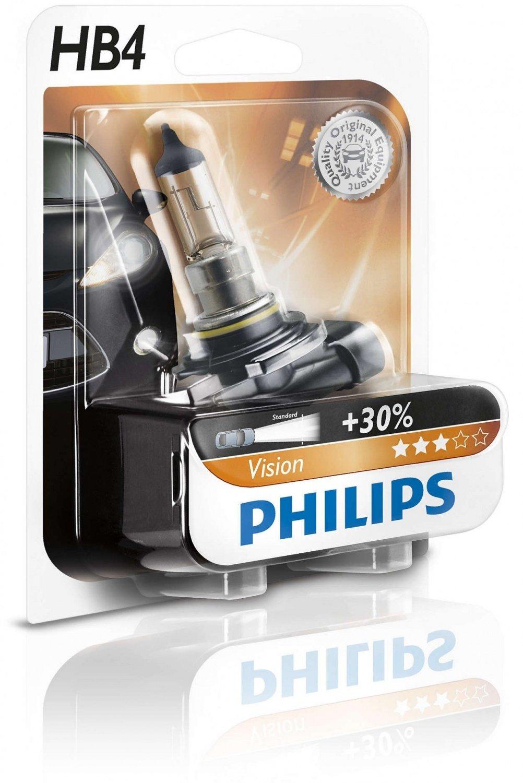 Лампа галогеновая Philips HB4 Vision (9006PRB1) фото 1