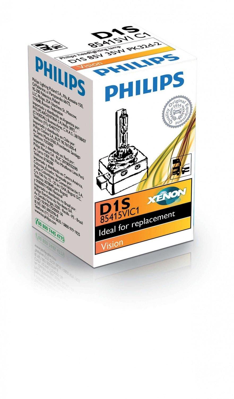 Лампа ксеноновая Philips D1S Vision (85415VIC1) фото 1