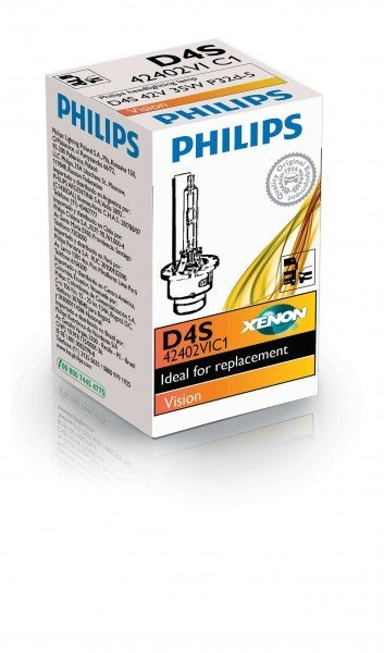 Купить Лампа ксеноновая Philips D4S Vision (42402VIC1), PHILIPS Automotive