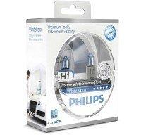 Лампа галогеновая Philips H1 WhiteVision +60% (12258WHVSM)