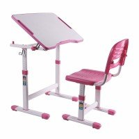 Парта-транформер FunDesk PICCOLINO II Pink со стульчиком (Piccolino II Pink)