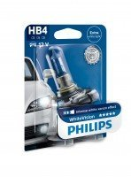 Лампа галогеновая Philips HB4 WhiteVision +60% (9006WHVB1)