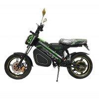 Электроскутер ROVER Impulse черный с зеленым (Black-green)