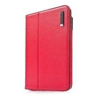 Чехол CAPDASE для планшета iPad mini Folder Case Folio Dot Red/Black