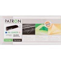 Картридж лазерный PATRON Extra HP CLJ Q6001A, PN-124ACR, CYAN (CT-HP-Q6001A-C-PN-R)