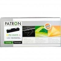 Картридж лазерный PATRON Extra HP CLJ CB542A, PN-125AYR YELLOW (CT-HP-CB542A-Y-PN-R)