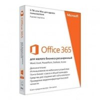 Офис Microsoft Office365 Small Business Premium 32/64 Ukrainian Subscr 1YR Medialess (6SR-00140)