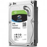 "Жесткий диск внутренний SEAGATE HDD 3.5"" SATA 3.0 2TB 5900RPM 64MB SkyHawk (ST2000VX008)"