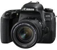 Фотоаппарат CANON EOS 77D 18-55 IS STM (1892C022)