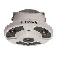 Видеокамера AHD купольная Tecsar AHDD-2Mp-10Fl-FE /AHDD-2Mp-20Fl-FE