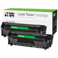 Картридж лазерный ColorWay для HP, Q2612AF/Canon FX-10 LJ 1010 Universal DUAL PACK (CW-HQ2612/FX10FM)