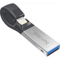 Накопичувач USB SANDISK iXpand USB 3.0 / Lightning Apple 256GB