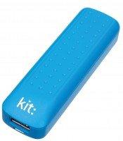 Портативный аккумулятор Kit Essentials Range 2000mAh Blue