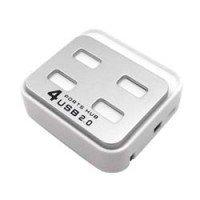 USB Хаб PowerPlant 4 (порта) (квадрат)