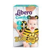 Подгузники Libero COMFORT 3 (4-9 кг) 22 шт (7322540556421)