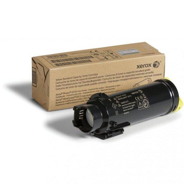 Картриджи к лазерной технике, Тонер-картридж лазерный Xerox P6510/WC6515 Yellow, 4300 стр (106R03695)  - купить со скидкой