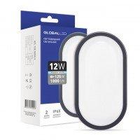 Светодиодный светильник GLOBAL HPL 12W 5000K E (1-HPL-004-E)