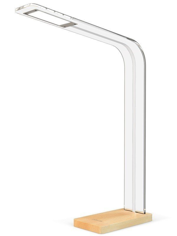 Настольный светильник Intelite desklamp Glass 8W (DL5-8W-TRL) фото