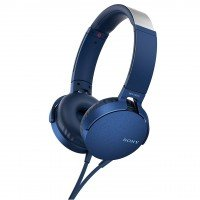 Наушники Sony MDR-XB550AP mic Blue