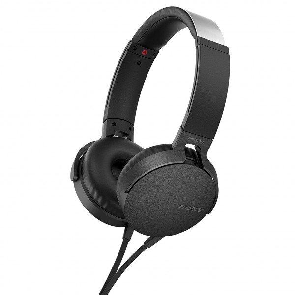 Наушники Sony MDR-XB550AP mic Black MDRXB550APB.E e8d35e66ac084