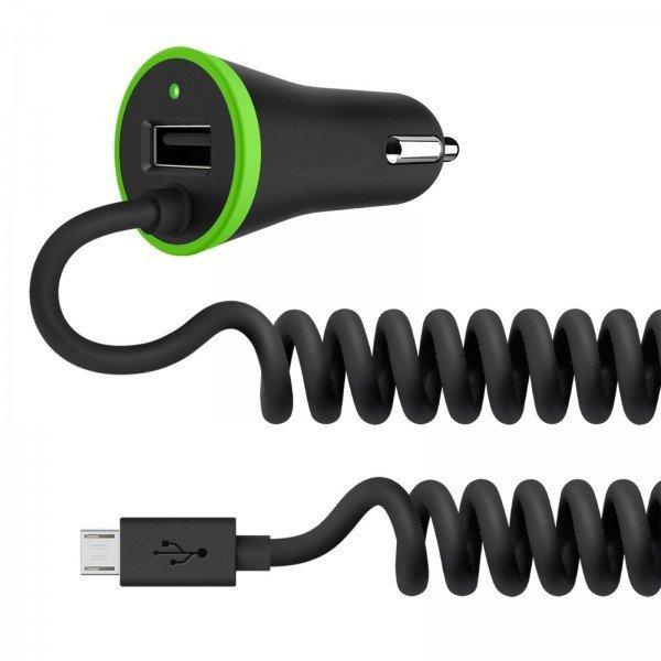 ЗУ авто МС Belkin BOOST UP (Micro USB Cable, 3.4Amp)  - купить со скидкой