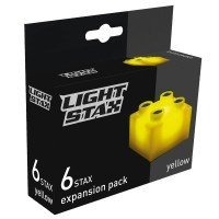 Конструктор Light Stax с LED подсветкой Expansion желтый 6 эл. 2x2 (LS-M04002)