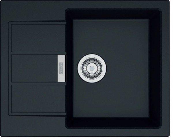 Купить Кухонная мойка Franke SID 611-62 Черный (114.0497.931)