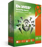 Антивирус Dr.Web Security Space 2 ПК 24 месяца