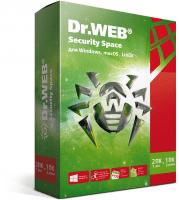 Антивирус Dr.Web Security Space 2 ПК 12 месяцев