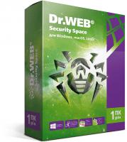 Антивирус Dr.Web Security Space 1 ПК 12 месяцев
