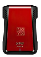 "Корпус для 2.5"" HDD/SSD ADATA EX500, USB 3.1 Red"