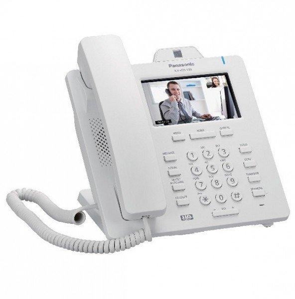 Купить Проводной IP-видеотелефон Panasonic KX-HDV430RU White для PBX KX-HTS824RU (KX-HDV430RU)
