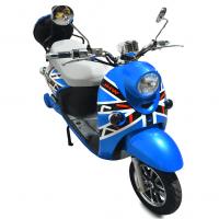 Электроскутер E-Mania British синий (Blue)