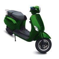 Электроскутер E-Mania Roma зеленый (Green)