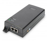 PoE-Инжектор DIGITUS PoE Ultra 802.3at, 10/100/1000 Mbps, Output max. 48V, 60W (DN-95104)