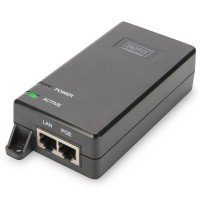 PoE-Инжектор DIGITUS PoE+ 802.3at, 10/100/1000 Mbps, Output max. 48V, 30W (DN-95103-2)