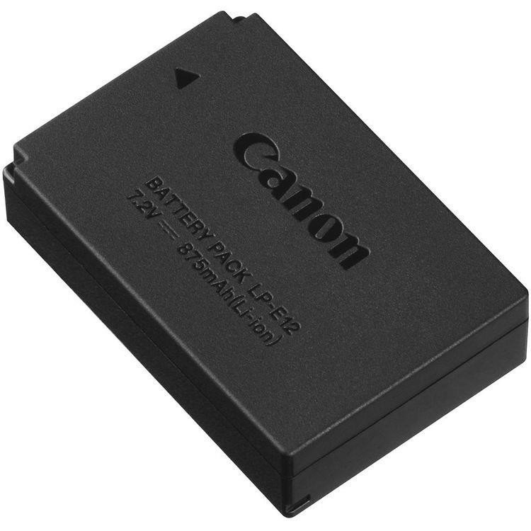 Аккумулятор Canon LP-E12 для EOS M50, M100 (6760B002) фото