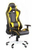 Кресло для геймера Special4You ExtremeRace black/yellow (E4756)